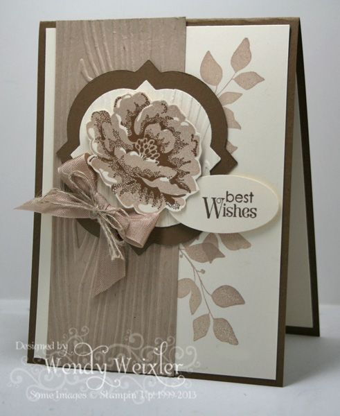 Wickedly Wonderful Creations: Stippled Blossom, Card Idea, Blossoms Su, Cards Stippled, Su Card, Cards Stampin, Cardmaking Papercrafts, Cards Su