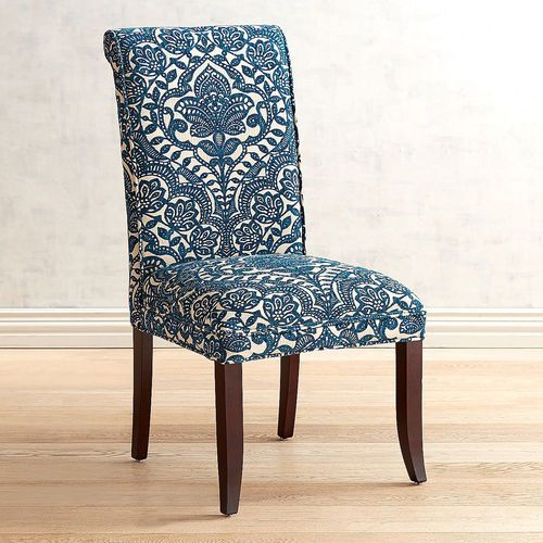 Effortlessly Elegant Just How We Like It Literally In The Case Of Our Angela Dining Chair The C Dining Chairs Dinning Room Chairs Leather Dining Room Chairs Navy blue parsons chairs