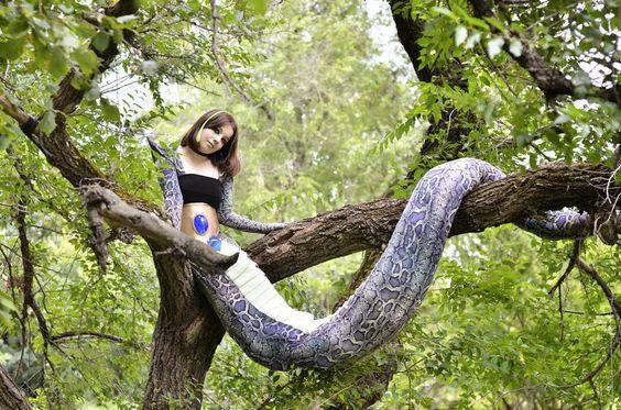 Half snake half human mythology - photo#1