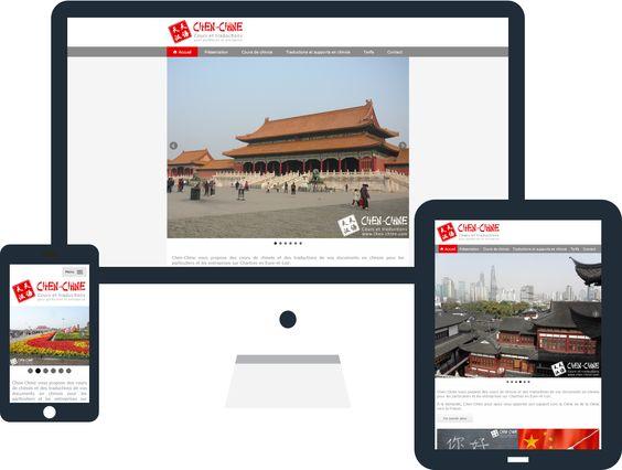 Mise en ligne du site internet de Chen-Chine à #Chartres proposant des cours de chinois et des traductions et supports en chinois avec sa création complète par evolutiveWeb.com : http://www.evolutiveweb.com/actualites/articles/creation-du-site-internet-de-chen-chine-100.html