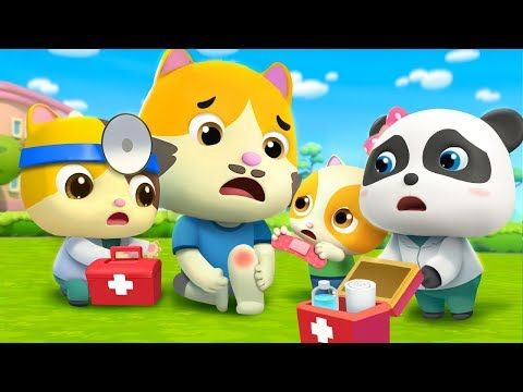Daddy Got A Boo Boo Doctor Cartoon For Kids Babybus Nursery Rhymes Kids Songs Youtube Kids Songs Cartoon Kids Nursery Rhymes