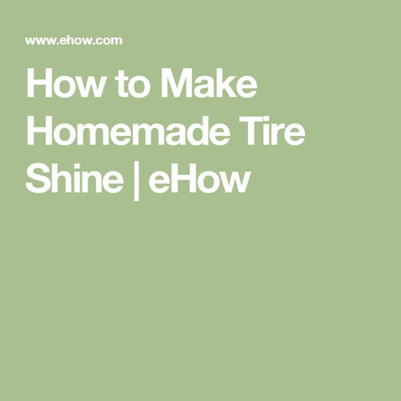 Homemade, How to make homemade and How to make on Pinterest
