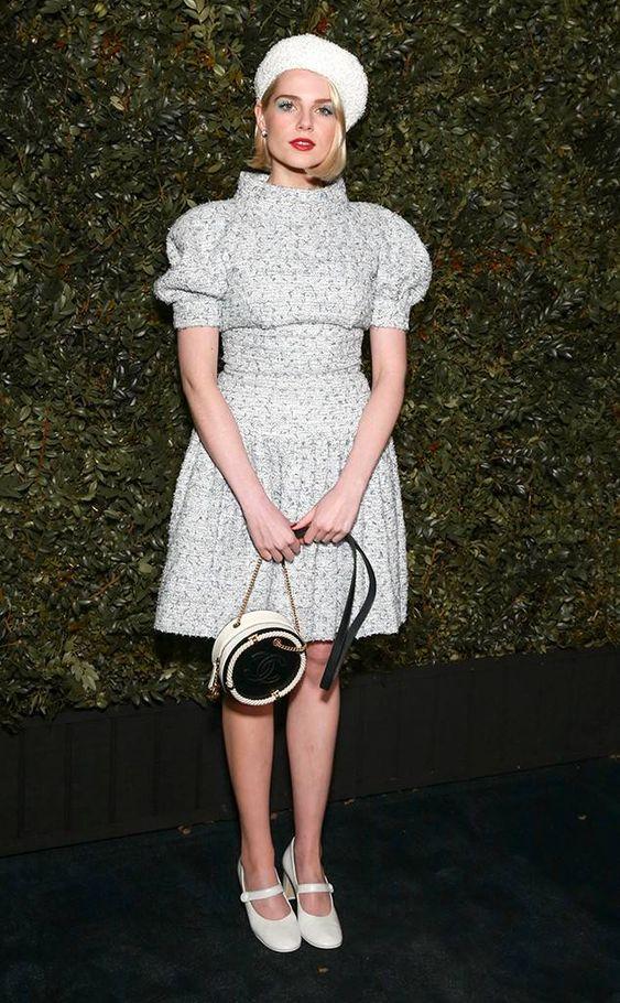 Lucy Boynton from Pre-Oscars Parties 2019 | E! News