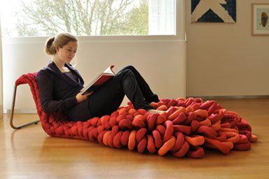 Loop armchair by Sophie de Vocht