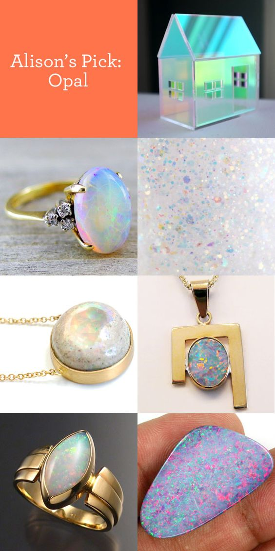 When it comes to opals, we just can't get enough. What's your favorite gemstone? #GemstoneJune
