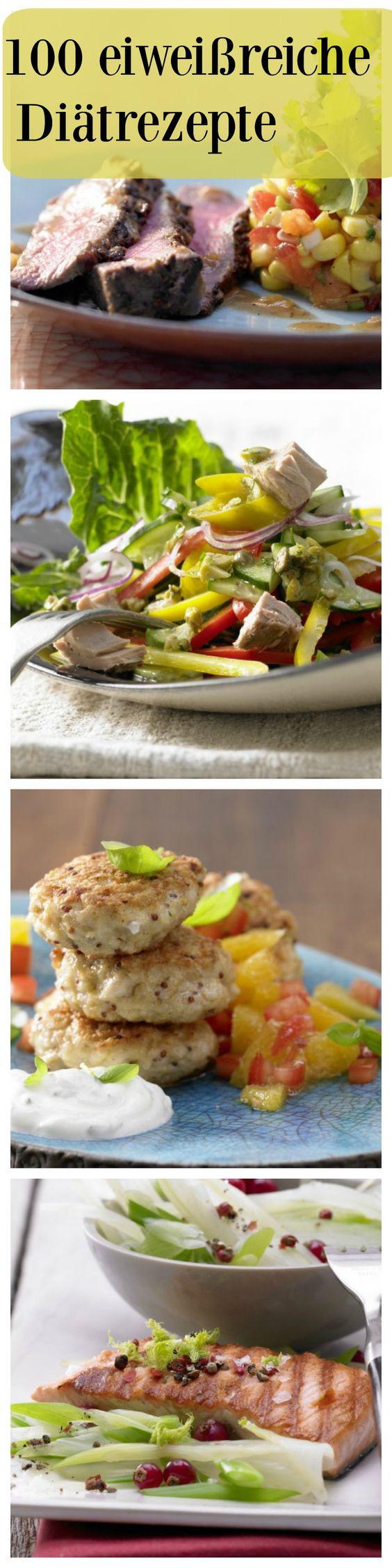 Bei der Eiweißdiät werden, wie der Name schon sagt, proteinreiche Lebensmittel bevorzugt.Dahinter steht die Theorie, dass Eiweiß besser sättigt als Fett und Kohlenhydrate, die Muskeln erhält und den gefürchteten Jojo-Effekt verhindert. Klicken Sie sich durch unsere leckeren Rezepte | http://eatsmarter.de/rezepte/rezeptsammlungen/eiweiss-diaet-fotos#/0