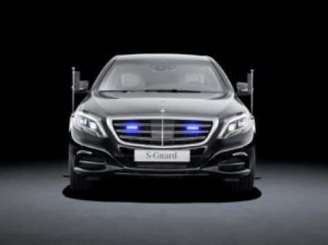 Mercedes Benz That Worth 600k Euros The S600 Guard With