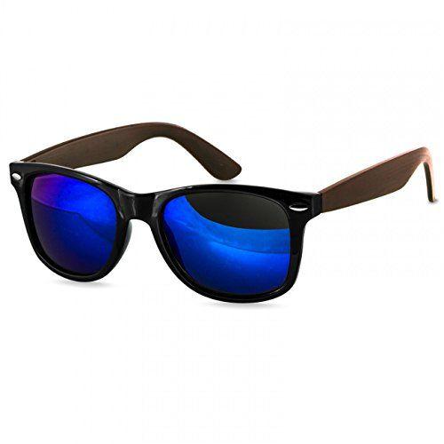 Classic  Sonnenbrille schwarz//blau