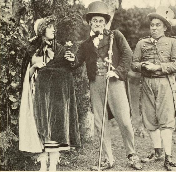 Mabel Normand, Ford Sterling, Mack Sennett | Here we are ...