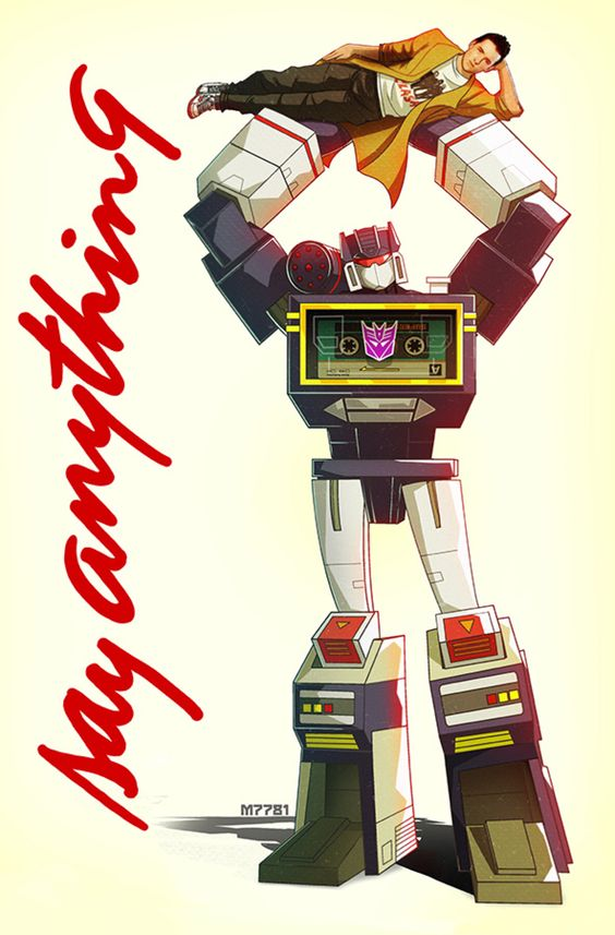 soundwave : say anything by m7781 on @DeviantArt