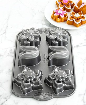 Nordic Ware 6 Cavity Flower Cake Pan Nordic Ware Cake