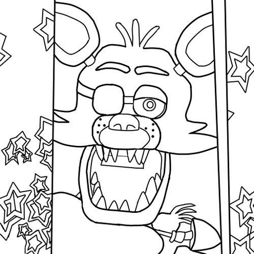 Have Fun With Fnaf Coloring Pages Fnaf Coloring Pages Super