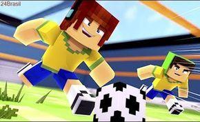 Minecraft Jogo De Futebol Aventuras Com Mods 63 Mario Characters Character Fortnite