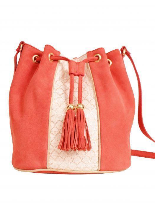 Bucket Bag Biba Poppy Maradji Sac Seau Biba Coquelicot Maradji Bucket Bag Biba Poppy Maradji Bag Biba Bucket In 2020 Bucket Bag Bags Red Leather Handbags