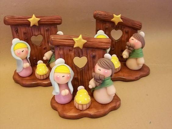 Pinterest manualidades porcelana fria navidad buscar con for Arcilla para ceramica