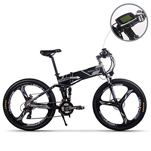 Jimai Rt 860 Mans Folding Electric Bike Mountain Hybrid Mtb Bike