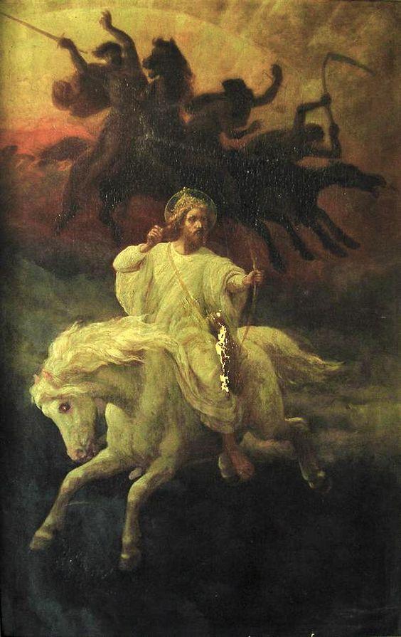 Johannes Adam Simon Oertel - The Four Horsemen of Apocalypse