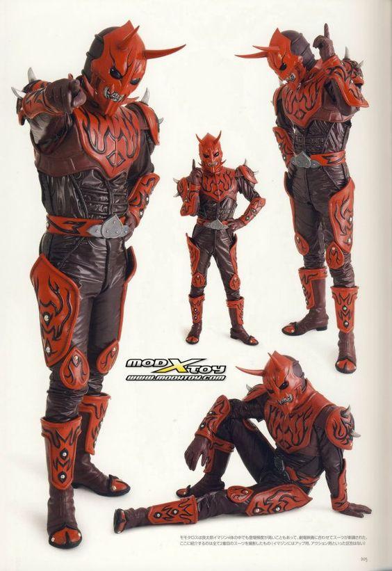 仮面ライダー電王のモモタロス
