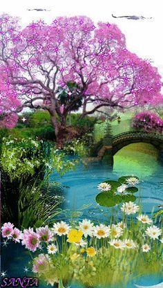 Paz y armonía.todos la anhelamos alcanzar y que maravilloso cuando ya la hemos alcanzado...