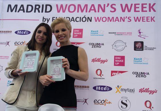 Elena Furiase y Soraya, dos ARTISTAS CON CORAZÓN. Un modelo afín a los principios que promueve MADRID WOMAN'S WEEK. Con estos premios, además de reconocer su buen corazón, queremos ampliar la solidaridad de estos influyentes y famosos para que estén también apoyando a la Igualdad y a los derechos de las mujeres.