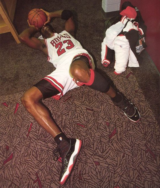 Michael Jordan Crying Locker Room