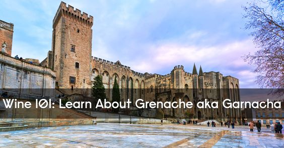 Learn facts, info and basics about Gernache red wine, commonly known by its Spanish name Garnacha. It's a key part of the French Châteauneuf-du-Pape blend.