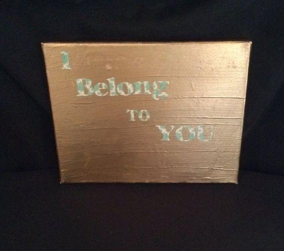 Home Decor/Gift/Wedding Handmade Quote 8x10 canvas art on Etsy, $12.00