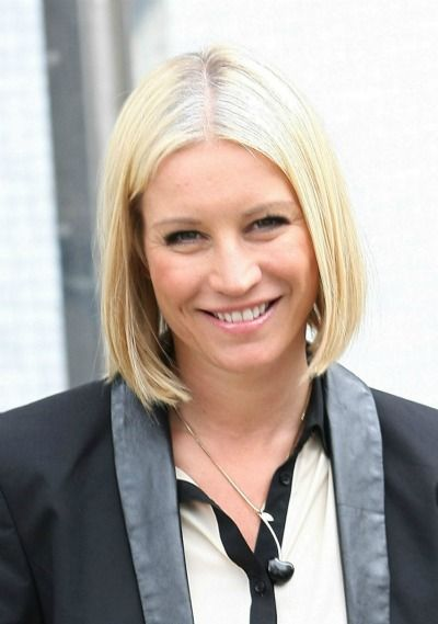Denise van Outen in a classic, mid-length bob