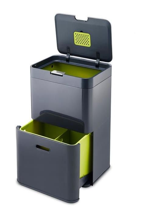 Poubelle De Cuisine Recycling Station Recycling Bins Garbage Can