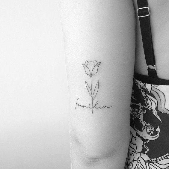 Tatuagem de flores: 64 ideias lindas para tatuar: