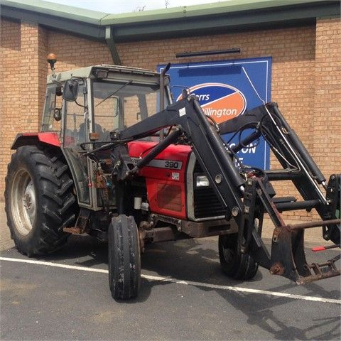 1995 MASSEY-FERGUSON 390 40 HP to 99 HP For Sale At TractorHouse.com