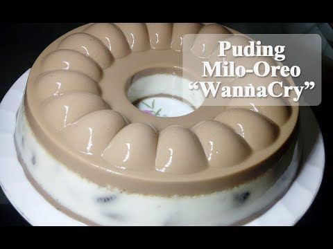 Tutorial Resep Dessert Cara Membuat Puding Milo Oreo Wannacry Youtube Hidangan Penutup Oreo Kue Lapis