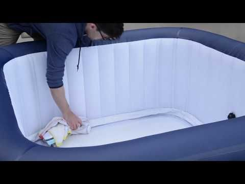 Lay Z Spa How To Pack Away Your Hot Tub Youtube Hot Tub Diy Hot Tub Tub