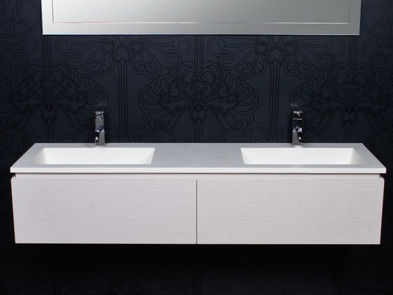 Reece bathrooms cibo tasca 1500 wall hung vanity for Bathroom designs reece