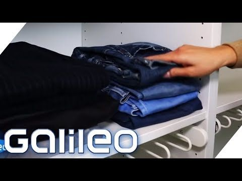 So Faltet Man Klamotten Am Platzsparendsten Galileo