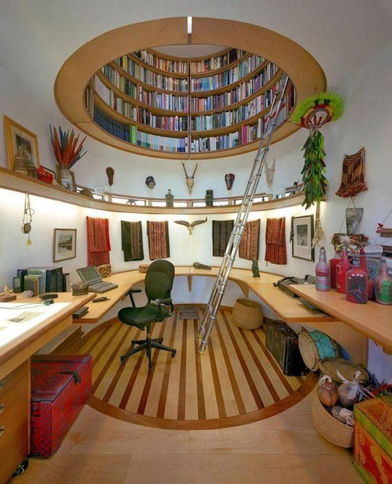 Your home library idea: