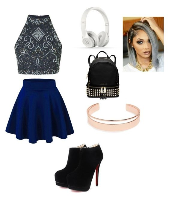 """""""Untitled #167"""" by alexiawilliams-1 ❤ liked on Polyvore featuring Beats by Dr. Dre, MICHAEL Michael Kors and Leith"""