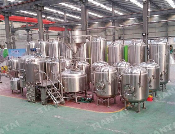 1500l Vertical Bright Beer Tank Brewery Equipments