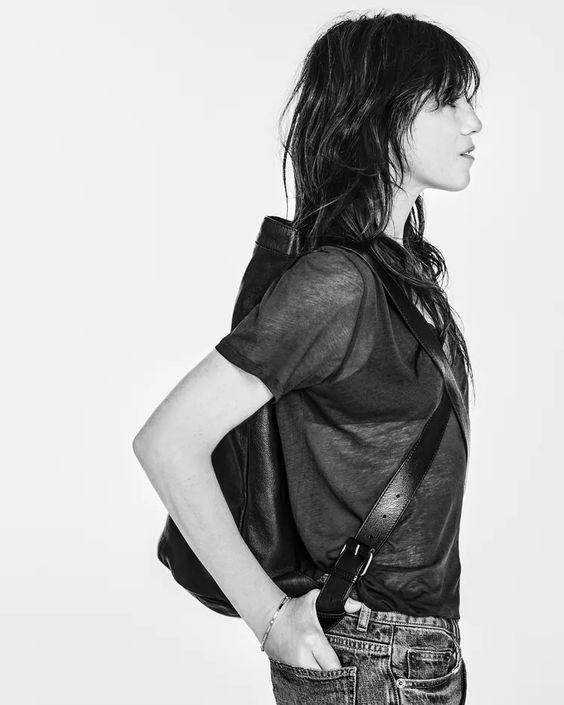 Charlotte Gainsbourg for Zara