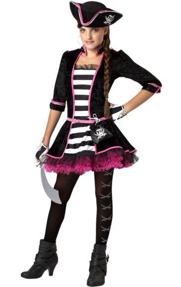 Child Pink Pirate Girl Costume Children, Girl costumes and Pirates - halloween costume girl ideas