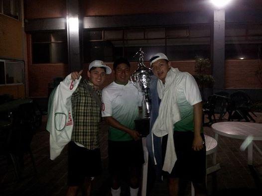 Llegando de Tlaxcala como campeones Equipo Fstse