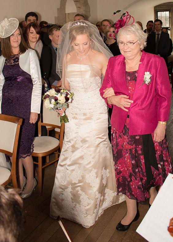 Emma and David's real life wedding at Farnham Castle | CHWV