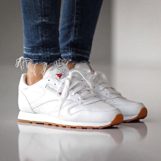 Sneakers femme - Reebok Classic Leather ©slktn