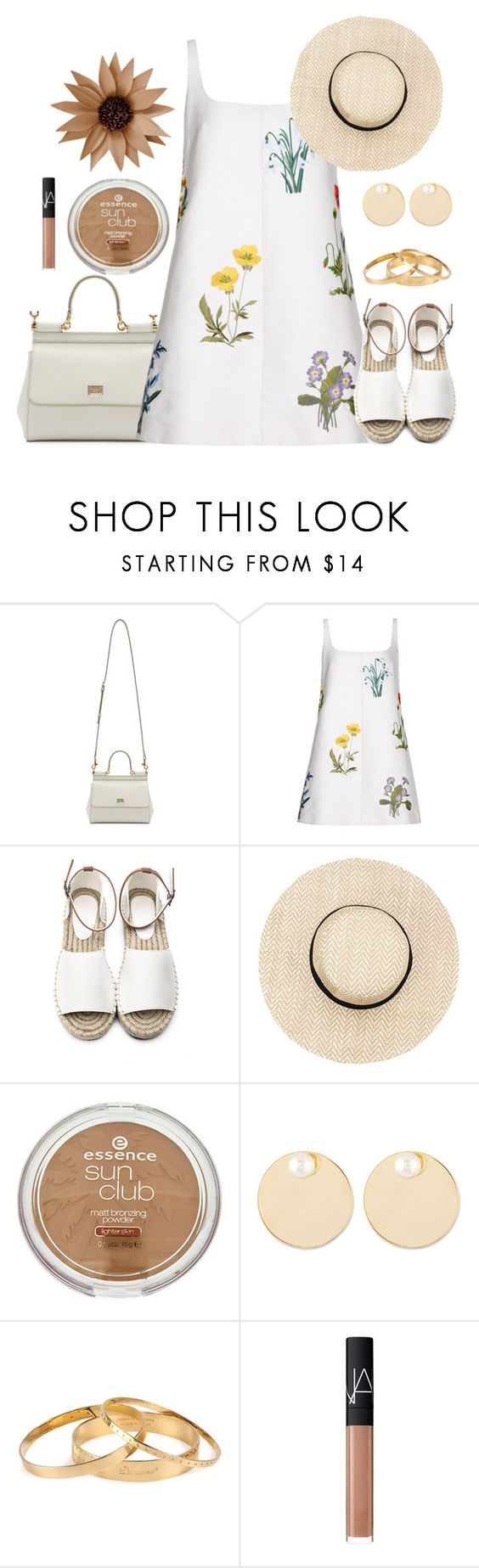""":)"" by liora134 ❤ liked on Polyvore featuring Dolce&Gabbana, STELLA McCARTNEY, Auden, Dsquared2 and NARS Cosmetics"