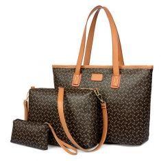 Collection Mid-Year Big Sale - Banggood  Bolso de hombro bolso de las mujeres fijado para damas monedero de la cartera