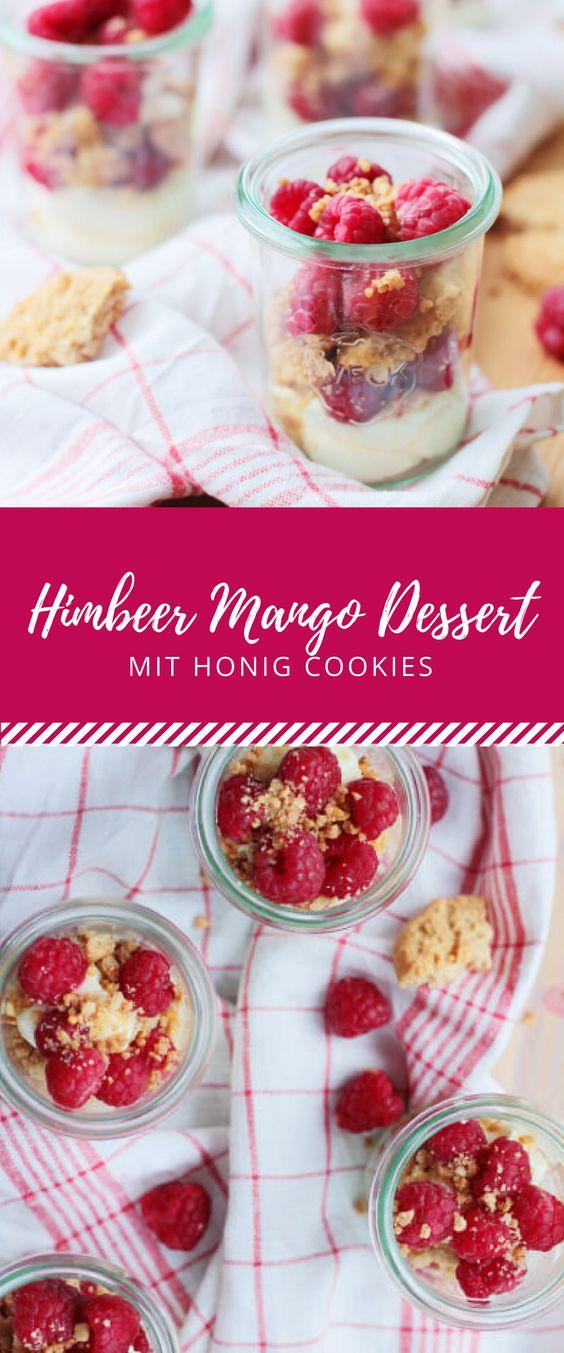 Die Kombination aus Himbeeren und Mango ist ein absolutes Muss! Vereint im Dessert mit einer Mascarpone Creme und knackigen Keksen, ist es der perfekte Nachtisch für den Sommer! Ein einfaches und leckeres Rezept für den Abschluss eines Dinners, einer Party oder einfach so zwischendurch.
