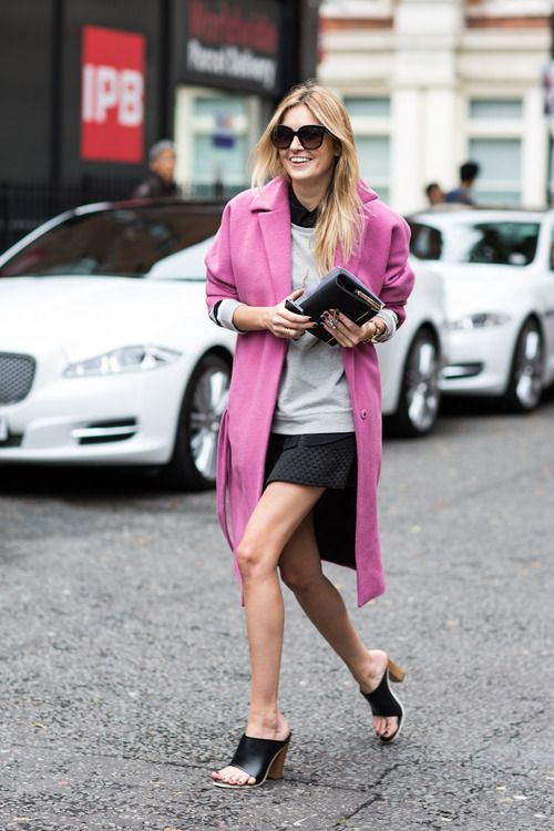 For a girl on the go.: Street Style, Cocktail Dresses, Chic Pink, Le Style