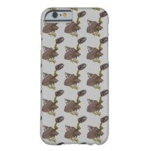 Tiled scrap birds barely there iPhone 6 case