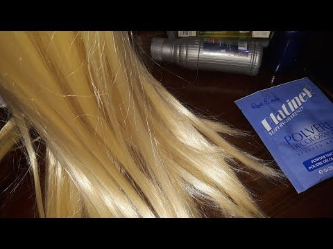طريقة صبغ الشعر اشقر بلاتيني في البيت بطريقة سهلة وغير مكلفة Youtube In 2021