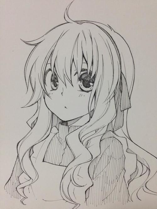Beginner Anime Pencil Sketch